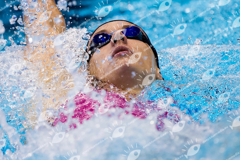 Katinka Hosszu Hungary HUN <br /> 200 Backstroke Women Heat<br /> 32nd LEN European Championships <br /> Berlin, Germany 2014  Aug.13 th - Aug. 24 th<br /> Day06 - Aug. 18<br /> Photo A.Masini/Deepbluemedia/Inside