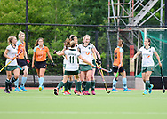 GRONINGEN - Play outs Finals<br /> Groningen - Rotterdam (women)<br /> Foto: Rotterdam scored 0-1<br /> WORLDSPORTPICS COPYRIGHT FRANK UIJLENBROEK