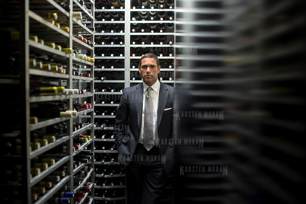 January 27, 2014 - New York, NY : Jorge Mora poses for a portrait at Casa Lever on 53rd Street in Manhattan on Monday evening. CREDIT: Karsten Moran for The New York Times