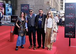 Edinburgh International Film Festival 2019<br /> <br /> Mrs Lowry And Son (World Premiere, closing night gala)<br /> <br /> Pictured: Michele Grey, Richard Grey, Angus MacFadyen and guest<br /> <br /> Aimee Todd   Edinburgh Elite media
