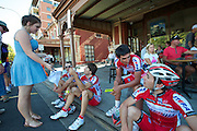 Easy access to athletes - 2012 Santos Tour Down Under - Adelaide