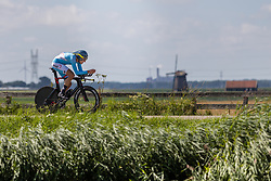 WIRTGEN Tom from LUXEMBOURG during Men Elite Time Trial at 2019 UEC European Road Championships, Alkmaar, The Netherlands, 8 August 2019. <br /> <br /> Photo by Thomas van Bracht / PelotonPhotos.com <br /> <br /> All photos usage must carry mandatory copyright credit (Peloton Photos | Thomas van Bracht)