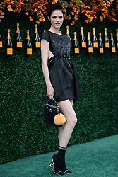 June 3, 2017 - Jersey City, NJ, USA - June 3, 2017 Jersey City, NJ..Coco Rocha attending the Veuve Cliquot Polo Classic at Liberty State Park on June 3, 2017 in Jersey City, NJ. (Credit Image: © Kristin Callahan/Ace Pictures via ZUMA Press)