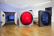 Peace in a pod! Tired travellers could soon be sleeping in stackable capsules as the small hotel trend takes off in a big way<br /> <br /> Capsule hotels are the norm in busy cities which attract a large number of tourists. <br /> Previously considered tiny, cramped and uncomfortable, they are now becoming, smarter, slicker and sexier as more and more travellers seek unique experiences at wallet-friendly prices.<br /> And now the brains behind sleep pod company Podtime are jumping on the trend, launching Podtels, their version of a compact hotel<br /> 'We are trying to launch the hotel in Gatwick Airport,' said co-founder Paul Grindrod.<br />  'We already have a hotel in Moscow and we're hoping to launch more hotels all over the world.'<br /> Capsule hotels were first developed in Japan and feature a number of very small rooms.<br /> <br /> Designed to provide inexpensive overnight accommodation, they are usually located near train stations and provide overnight accommodation for business people or commuters who have missed their last train home.<br /> Podtime's sleeping tubes have currently only been used in the workplace with companies like Facebook and Nestle investing in the nap cylinder.<br /> There is also a hostel in North America which features the company's new double bunk pods.<br /> The pods are the brainchild of Jon Gray, who created them as a recharge hub for busy city executives.The business was launched in 2011.<br /> Podtels will see the sleep pods – which are based on the current pods but able to take a double bed - being stacked into two levels, which will form a hotel complex.<br /> Podtel rooms, which measure 1.5m, will also have space for luggage and there will be optional extras like TVs, lighting and power sockets.<br /> 'We would love to have one in London but as yet there aren't enough funds as we are a small company,' Mr Grindrod said.<br /> ©Podtime/Exclusivepix