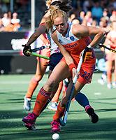 BREDA - Margot Van Geffen (Ned)   tijdens de finale  Nederland-Japan (8-2) van de 4 Nations Trophy dames 2018 . COPYRIGHT KOEN SUYK