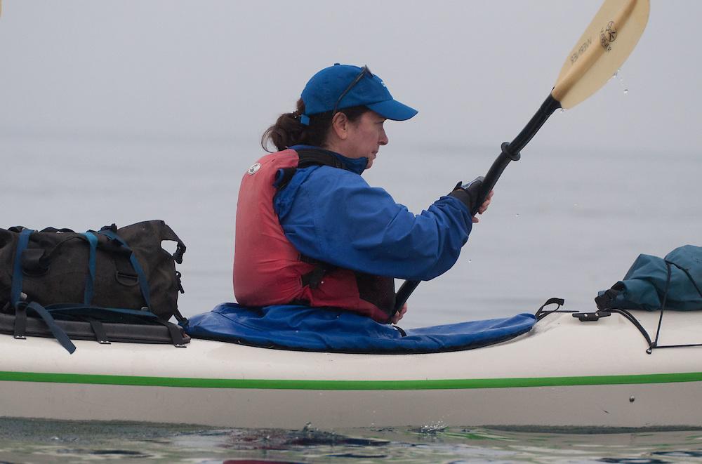 Jocelyn Paddles, San Juan Islands, Washington, US