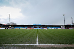 General View inside the ground - Photo mandatory by-line: Rogan Thomson/JMP - 07966 386802 - 17/01/2015 - SPORT - FOOTBALL - Scunthorpe, England - Glanford Park - Scunthorpe United v Bristol City - Sky Bet League 1.