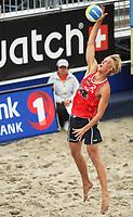 Volleyball Sandvolleyball Beachvolleyball<br />Swatch FIVB World Tour Conoco Phillips Grand Slam<br />Stavanger 260608<br />Foto: Sigbjørn Andreas Hofsmo, Digitalsport<br /><br />Martin Spinnanger