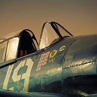 Close up of the Grumman F6F Hellcat