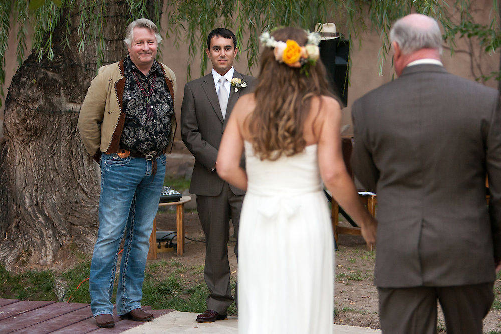 David and Liz's Northern New Mexico wedding at Swan Lake Ranch