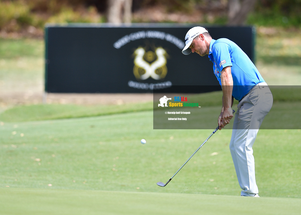 PERTH, AUSTRALIA - FEBRUARY 16: Michael Hoey (NIR) on the 2nd green during the 3rd round of the ISPS Handa World Super 6, Lake Karrinyup Country Club, Perth, Western Australia, on February 16, 2019. <br /> .<br /> .<br /> .<br /> (Photo by: Naratip Golf Srisupab/SEALs Sports Images)<br /> .<br /> Any image use must include a mandatory credit line adjacent to the content which should read: Naratip Golf Srisupab/SEALs Sports Images