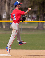 Middletown, New York - SUNY Orange plays Ulster County Communtity College in a baseball game on April 28, 2014.
