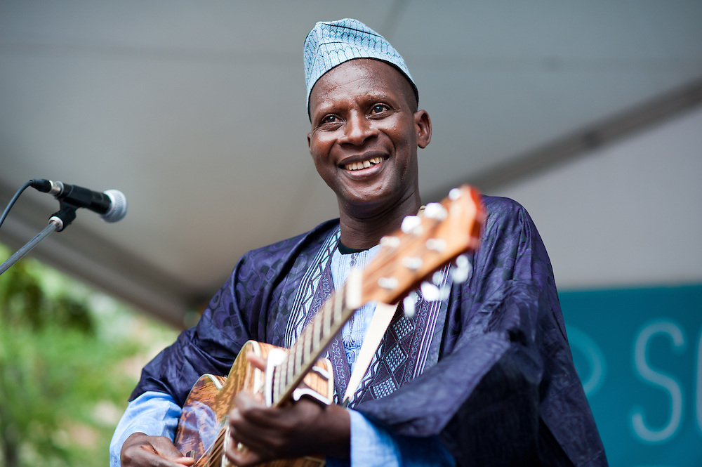 Sidi Touré at the inaugural Square Roots Festival