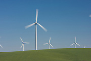 Portland General Electric's Biglow Wind Farm near the Columbia River in Oregon.