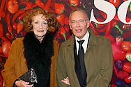AMSTERDAM - De premiere van de Nederlandse speelfilm Soof. Met hier op de rode loper  Gerrie van der Klei en Frans Mulder. FOTO LEVIN DEN BOER - PERSFOTO.NU