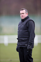 Edinburgh City&rsquo;s manager Gary Jardine. <br /> Edinburgh University 0 v 1 Edinburgh City, Scottish Sun Lowland League game played 14/3/2015 at The University of Edinburgh&rsquo;s Peffermill playing field.