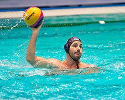 21-01-2012 WATERPOLO: EC NETHERLANDS - TURKEY: EINDHOVEN<br /> European Championships Netherlands - Turkey / Willem Wouter Gerritse<br /> (c)2012-FotoHoogendoorn.nl / Peter Schalk