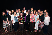 Administrative staff honored at the service awards ceremony for their fifteen years of service. Photo by: Ross Brinkerhoff.