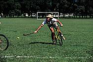 Hong Kong. last bicycle polo match barracks  Gurkhas    / Dernier match de polo . bicyclette sur la base militaire ìGalipoli Linesî du bataillon  Gurkha.  / R00057/67    L940714a  /  P0000322