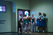 Graduation day for the dance students of the Dance School of the National Institute of Panamenian Culture (INAC). Old Anthropological Museum of Reina Torres de Arau?z.This year the School celebrated its 61st aniversary.