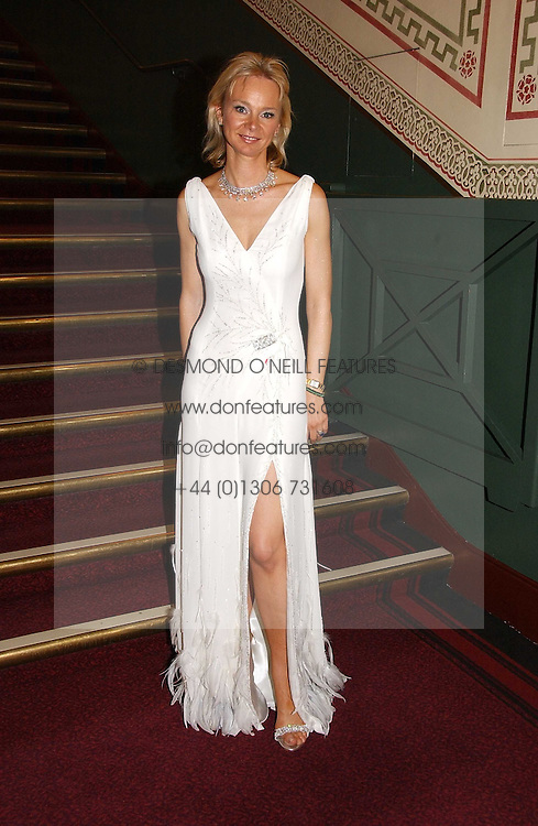 The COUNTESS OF DERBY at the NSPCC's Dream Auction held at The Royal Albert Hall, London on 9th May 2006.<br />