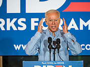 16 JULY 2019 - MANNING, IOWA: Former Vice President JOE BIDEN speaks during a campaign event in western Iowa. Vice President Biden spoke to a crowd of about 250 people in Manning Tuesday morning. Biden is running to be the Democratic nominee for President in 2020. Iowa holds the first selection event of the 2020 election cycle. The Iowa Caucuses are on February 3, 2020.        PHOTO BY JACK KURTZ