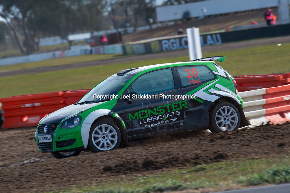 Scott Anderson - VW Polo - Rallycross Australia - Winton Raceway - 16th July 2017