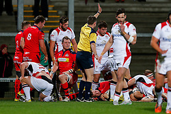 - Mandatory byline: Rogan Thomson/JMP - 13/11/2015 - RUGBY UNION - Kingspan Stadium - Belfast, Northern Ireland - Ulster Ravens v Bristol Rugby - The British & Irish Cup Pool 2.