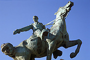 CHICAGO, SCULPTURE General Sheridan Statue N. Sheridan Road