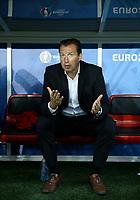 Belgium coach Marc Wilmots<br /> Lille 01-07-2016 Stade Pierre Mauroy Football Euro2016 Wales - Belgium / Galles - Belgio <br /> Quarter-finals. Foto Matteo Ciambelli / Insidefoto