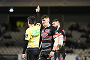 Edinburgh are awarded a penalty during the Guinness Pro 14 2017_18 match between Edinburgh Rugby and Zebre at Myreside Stadium, Edinburgh, Scotland on 6 October 2017. Photo by Kevin Murray.