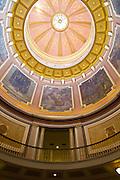 Interior of the Alabama state capitol building Montgomery, AL, USA