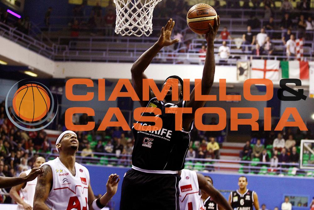 DESCRIZIONE : Milano Lega A1 2008-09 Armani Jeans Milano Carife Ferrara<br /> GIOCATORE : Harold Jamison<br /> SQUADRA : Carife Ferrara<br /> EVENTO : Campionato Lega A1 2008-2009<br /> GARA : Armani Jeans Milano Carife Ferrara<br /> DATA : 01/03/2009<br /> CATEGORIA : Tiro<br /> SPORT : Pallacanestro<br /> AUTORE : Agenzia Ciamillo-Castoria/G.Cottini<br /> Galleria : Lega Basket A1 2008-2009<br /> Fotonotizia : Milano Campionato Italiano Lega A1 2008-2009 Armani Jeans Milano Carife Ferrara<br /> Predefinita :