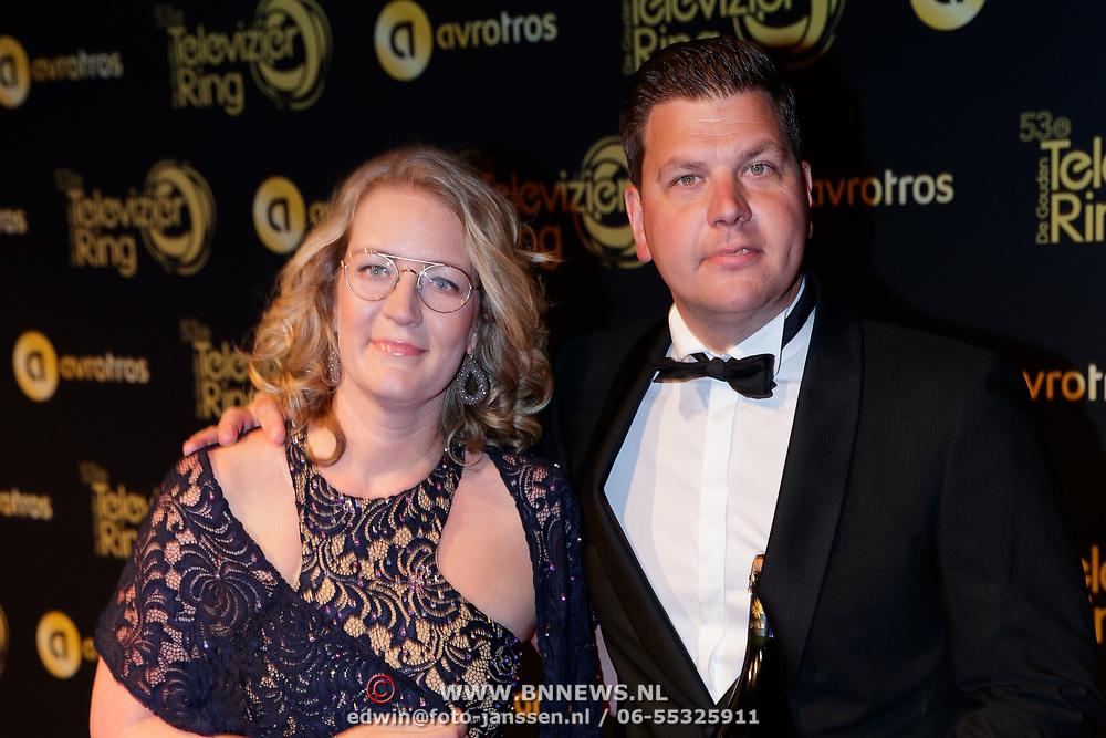 NLD/Amsterdam/20181011 - Televizier Gala 2018, Stephan en Ilona Pos