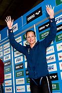 PELLEGRINI Federica Canottieri Aniene <br /> 100 dorso donne<br /> Riccione 13-04-2018 Stadio del Nuoto <br /> Nuoto campionato italiano assoluto 2018<br /> Photo &copy; Andrea Staccioli/Deepbluemedia/Insidefoto