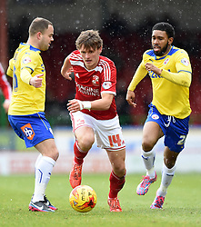 Swindon's John Swift in action during the Sky Bet League One match between Swindon Town and Crawley Town at The County Ground on 21 February 2015 in Swindon, England - Photo mandatory by-line: Paul Knight/JMP - Mobile: 07966 386802 - 21/02/2015 - SPORT - Football - Swindon - The County Ground - Swindon Town v Crawley Town - Sky Bet League One