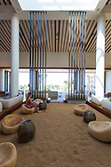 The lobby of the Andaz hotel in Wailea, Maui, Hawaii