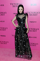 Jacqueline Li attending the Pink Carpet prior to the Victoria's Secret Fashion Show at the Mercedes-Benz Arena Shanghai in Shanghai, China.