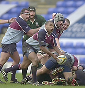 Photo - Peter Spurrier.25/01/2003 .Powergen Cup Quarter final London Irish v Rotherham.Jacob Rauluni
