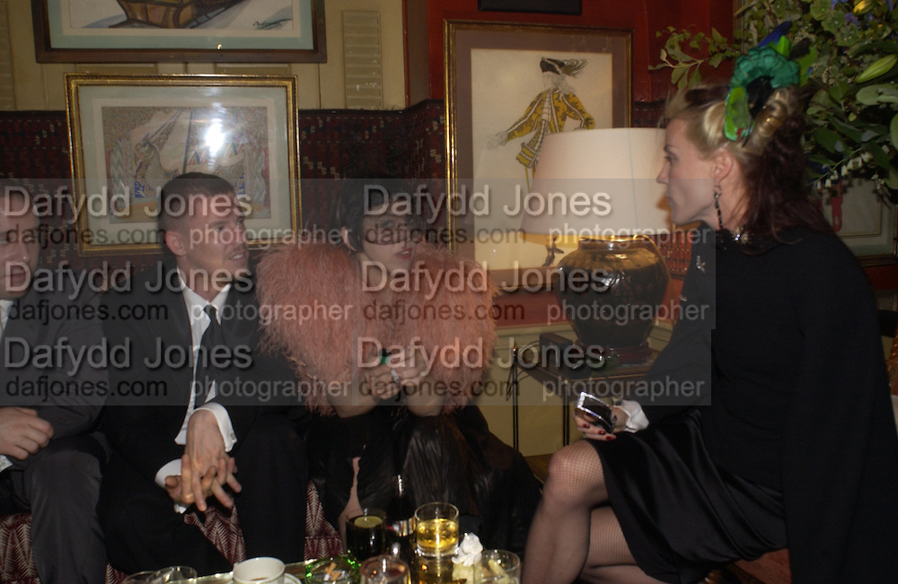 Alexander McQueen, Isabella Blow and Daphne Guinness<br />