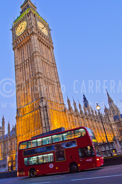Alberto Carrera, Big Ben, Elizabeth Tower, London, England, Great Britain, Europe