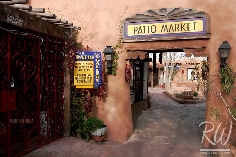 Patio Market Doorway, Old Town Albuquerque, New Mexico