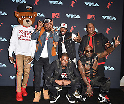 Naughty By Nature and Redman pose in the Press Room during the 2019 MTV Video Music Awards at Prudential Center on August 26, 2019 in Newark, New Jersey. Photo by Lionel Hahn/ABACAPRESS.COM