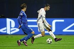 Maxime Gonalons of Lyon during football match between GNK Dinamo Zagreb and Olympique Lyonnais in Group H of Group Stage of UEFA Champions League 2016/17, on November 22, 2016 in Stadium Maksimir, Zagreb, Croatia. Photo by Morgan Kristan / Sportida