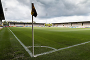 General view of the Pirelli stadium during the EFL Sky Bet Championship match between Burton Albion and Fulham at the Pirelli Stadium, Burton upon Trent, England on 16 September 2017. Photo by Richard Holmes.