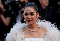 Chompoo Araya at the opening ceremony and Ismael's Ghosts (Les Fantômes D'ismaël) gala screening,  at the 70th Cannes Film Festival Wednesday May 17th 2017, Cannes, France. Photo credit: Doreen Kennedy