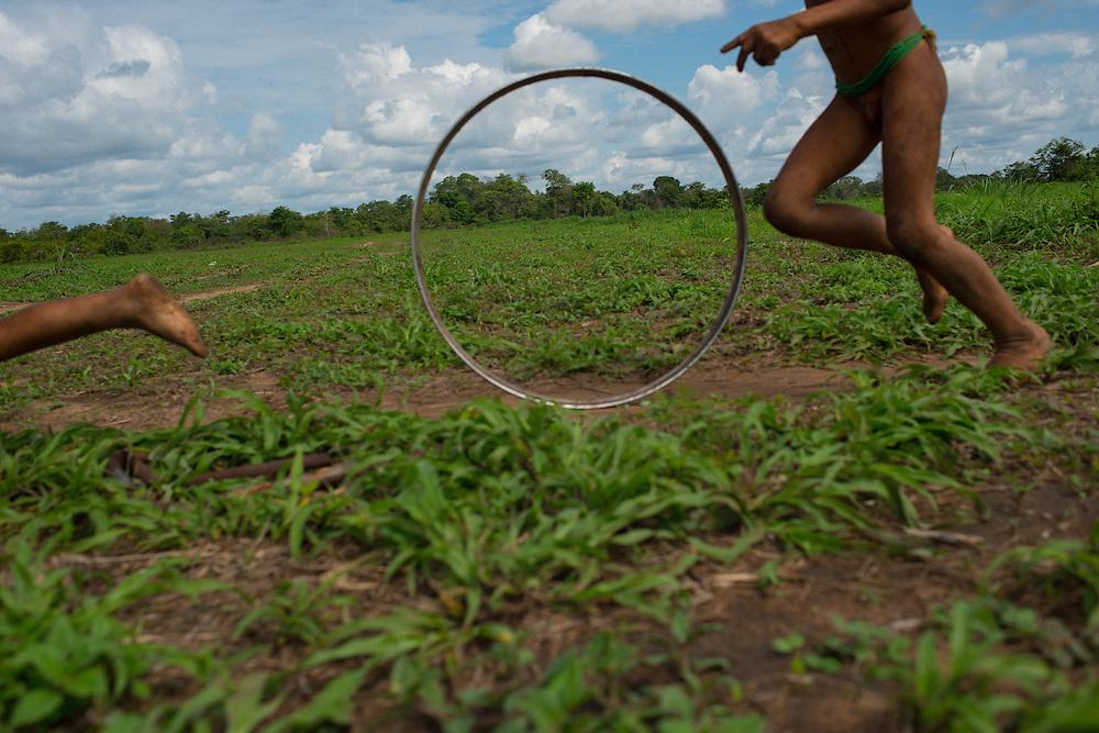 Kamayura indian village - Reserva Indigena do Xingu, Brazil, November 11 of 2012.