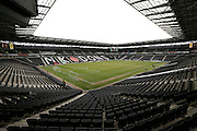 Stadium:mk bowl before the Sky Bet Championship match between Milton Keynes Dons and Brighton and Hove Albion at stadium:mk, Milton Keynes, England on 19 March 2016.