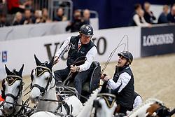 Chardon Ijsbrand, 4A Casper - 4B Feles - 4C Inci - 4E Maestoso X-30 Magus<br /> Gothenburg Horse Show FEI World Cups 2017<br /> © Hippo Foto - Stefan Lafrentz<br /> 26/02/17