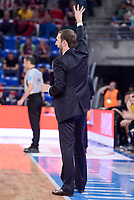 Baskonia's coach Sito Alonso during Quarter Finals match of 2017 King's Cup at Fernando Buesa Arena in Vitoria, Spain. February 16, 2017. (ALTERPHOTOS/BorjaB.Hojas)
